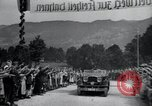 Image of Nazi officials at highway opening Austria, 1938, second 31 stock footage video 65675073870