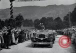 Image of Nazi officials at highway opening Austria, 1938, second 34 stock footage video 65675073870