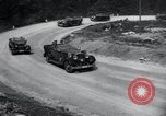 Image of Nazi officials at highway opening Austria, 1938, second 39 stock footage video 65675073870