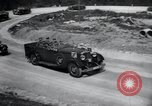 Image of Nazi officials at highway opening Austria, 1938, second 40 stock footage video 65675073870