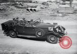 Image of Nazi officials at highway opening Austria, 1938, second 41 stock footage video 65675073870