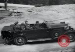 Image of Nazi officials at highway opening Austria, 1938, second 42 stock footage video 65675073870