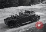 Image of Nazi officials at highway opening Austria, 1938, second 43 stock footage video 65675073870