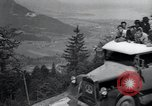 Image of Nazi officials at highway opening Austria, 1938, second 60 stock footage video 65675073870