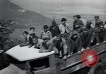 Image of Nazi officials at highway opening Austria, 1938, second 61 stock footage video 65675073870