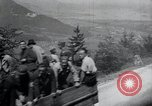 Image of Nazi officials at highway opening Austria, 1938, second 62 stock footage video 65675073870