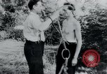 Image of prisoners of camp Belgium, 1945, second 1 stock footage video 65675073888