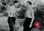 Image of prisoners of camp Belgium, 1945, second 2 stock footage video 65675073888
