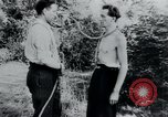 Image of prisoners of camp Belgium, 1945, second 3 stock footage video 65675073888