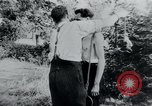 Image of prisoners of camp Belgium, 1945, second 6 stock footage video 65675073888