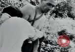 Image of prisoners of camp Belgium, 1945, second 10 stock footage video 65675073888