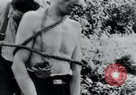 Image of prisoners of camp Belgium, 1945, second 13 stock footage video 65675073888