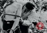 Image of prisoners of camp Belgium, 1945, second 14 stock footage video 65675073888