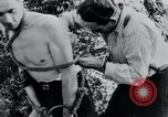 Image of prisoners of camp Belgium, 1945, second 15 stock footage video 65675073888