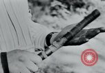 Image of prisoners of camp Belgium, 1945, second 17 stock footage video 65675073888