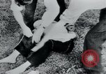 Image of prisoners of camp Belgium, 1945, second 27 stock footage video 65675073888