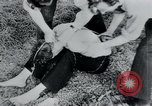 Image of prisoners of camp Belgium, 1945, second 28 stock footage video 65675073888