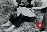 Image of prisoners of camp Belgium, 1945, second 31 stock footage video 65675073888