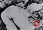Image of prisoners of camp Belgium, 1945, second 47 stock footage video 65675073888