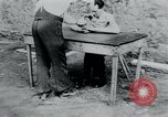 Image of prisoners of camp Belgium, 1945, second 52 stock footage video 65675073888