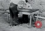 Image of prisoners of camp Belgium, 1945, second 53 stock footage video 65675073888