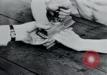 Image of prisoners of camp Belgium, 1945, second 57 stock footage video 65675073888