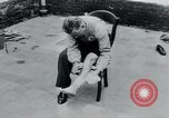 Image of prisoners of camp Belgium, 1945, second 2 stock footage video 65675073889