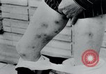 Image of prisoners of camp Belgium, 1945, second 27 stock footage video 65675073889