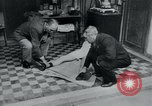 Image of prisoners of camp Belgium, 1945, second 31 stock footage video 65675073889