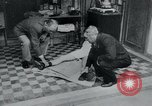 Image of prisoners of camp Belgium, 1945, second 32 stock footage video 65675073889