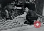 Image of prisoners of camp Belgium, 1945, second 35 stock footage video 65675073889