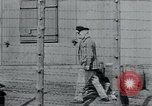 Image of prisoners of camp Hanover Germany, 1945, second 8 stock footage video 65675073890