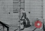 Image of prisoners of camp Hanover Germany, 1945, second 9 stock footage video 65675073890