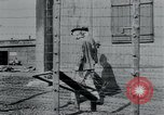 Image of prisoners of camp Hanover Germany, 1945, second 11 stock footage video 65675073890