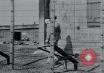 Image of prisoners of camp Hanover Germany, 1945, second 12 stock footage video 65675073890