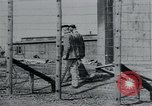 Image of prisoners of camp Hanover Germany, 1945, second 14 stock footage video 65675073890