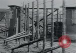 Image of prisoners of camp Hanover Germany, 1945, second 22 stock footage video 65675073890