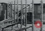 Image of prisoners of camp Hanover Germany, 1945, second 24 stock footage video 65675073890