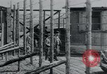 Image of prisoners of camp Hanover Germany, 1945, second 25 stock footage video 65675073890