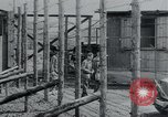 Image of prisoners of camp Hanover Germany, 1945, second 26 stock footage video 65675073890