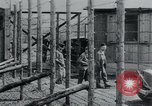 Image of prisoners of camp Hanover Germany, 1945, second 27 stock footage video 65675073890