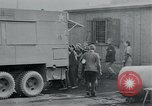 Image of prisoners of camp Hanover Germany, 1945, second 28 stock footage video 65675073890