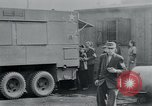 Image of prisoners of camp Hanover Germany, 1945, second 34 stock footage video 65675073890