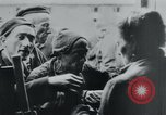 Image of prisoners of camp Hanover Germany, 1945, second 35 stock footage video 65675073890