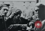 Image of prisoners of camp Hanover Germany, 1945, second 36 stock footage video 65675073890