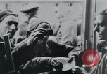 Image of prisoners of camp Hanover Germany, 1945, second 37 stock footage video 65675073890