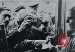 Image of prisoners of camp Hanover Germany, 1945, second 38 stock footage video 65675073890