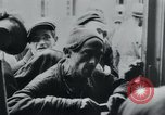 Image of prisoners of camp Hanover Germany, 1945, second 42 stock footage video 65675073890