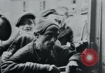 Image of prisoners of camp Hanover Germany, 1945, second 43 stock footage video 65675073890
