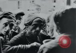 Image of prisoners of camp Hanover Germany, 1945, second 44 stock footage video 65675073890